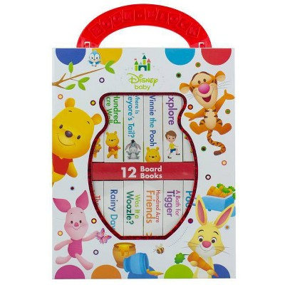 Disney Baby: Winnie the Pooh - by Erin Rose Wage (Board_book)