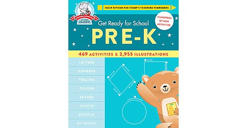 Get Ready for Pre-K (Revised) (Hardcover) (Heather Stella) - image 1 of 1
