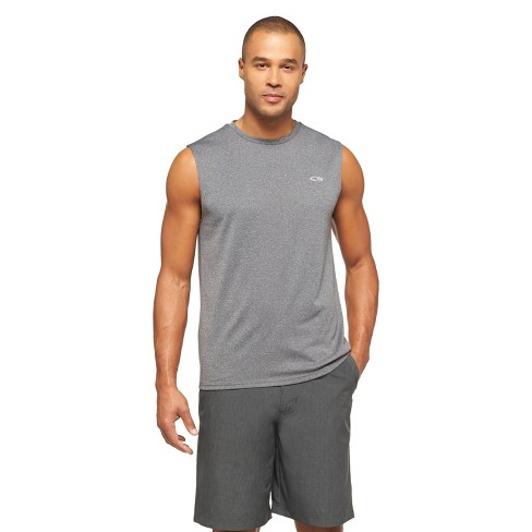 XL NEW Men/'s Activewear Shorts C9 Champion Charcoal Heather
