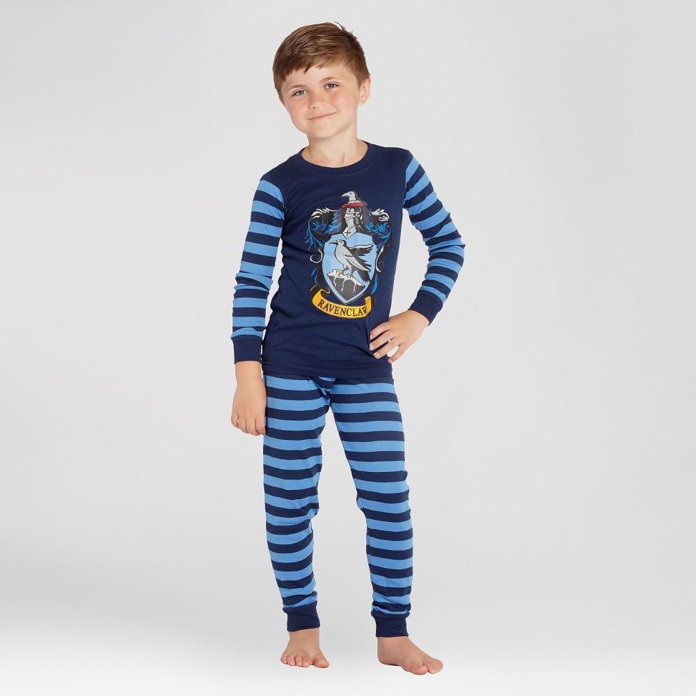 Boys' Harry Potter Ravenclaw 2pc Pajama Set - Navy 6, Multicolored