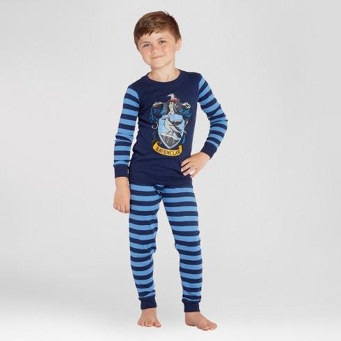 44c40fb3 Boys' Harry Potter Ravenclaw 2pc Pajama Set - Navy : Target