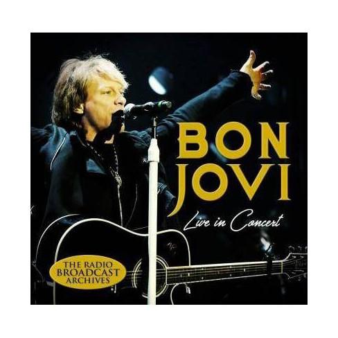 Bon Jovi - Live in Concert (CD) - image 1 of 1