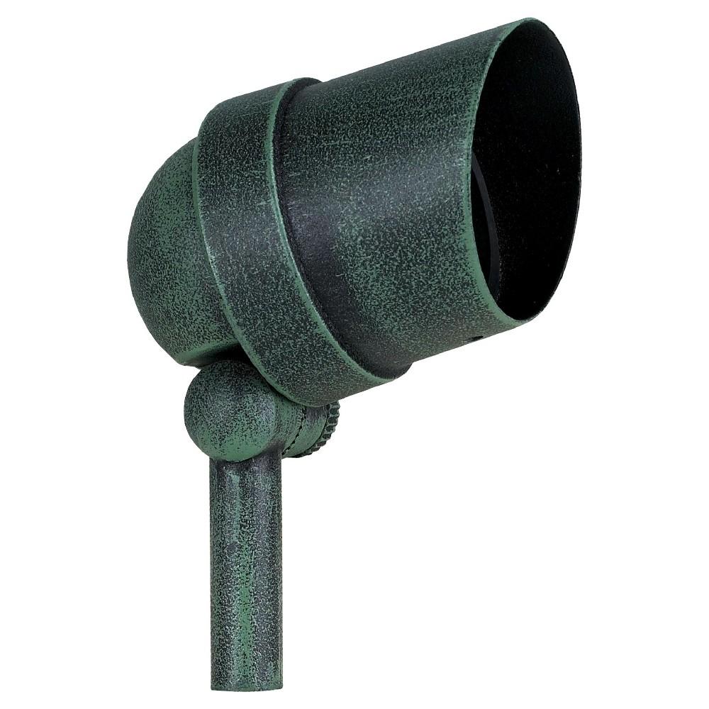 Paradise Garden 50W Halogen Cast Aluminum Spotlight - Green