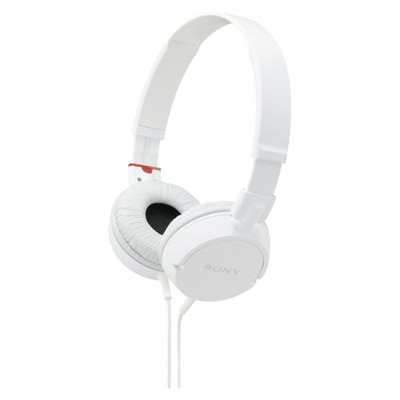 Sony Studio Series Wired Headphones - White (Sony Studio Series Headphones - White (MDRZX110/WHI)