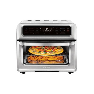 Chefman Dual-Function 20L Air Fryer Toaster Oven - Stainless Steel