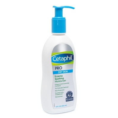 Cetaphil Pro Eczema Soothing Hand and Body Lotion Moisturizer Unscented - 10oz