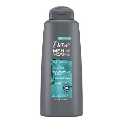 Dove Men+Care 2-in-1 Shampoo and Conditioner Blue Eucalyptus - 20.4 fl oz