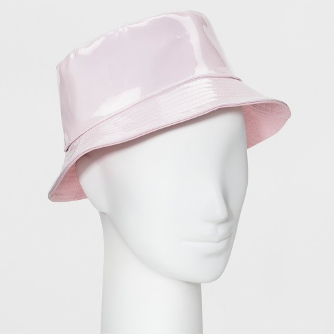 56b1049ed7ff6 Women's Canvas Reversible Bucket Hat - Wild Fable™ Blush