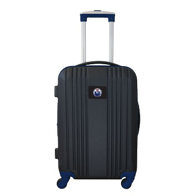 """NHL 21"""" Hardcase Two-Tone Spinner Carry On Suitcase"""