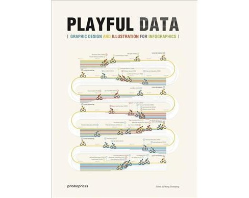 Playful Data : Graphic Design and Illustration for Infographics -  (Hardcover) - image 1 of 1