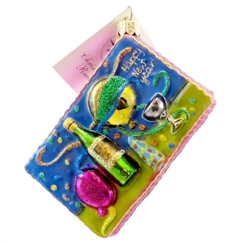 Christopher Radko Time Of Your Life Jr Ornament New Years Champagne - image 1 of 2