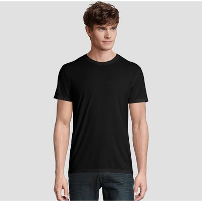 Hanes Premium Men's Short Sleeve Black Label Crew-Neck T-Shirt