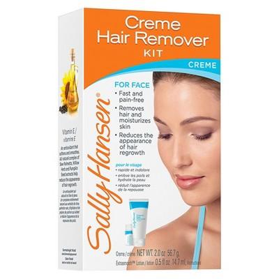 SANDY: Good facial hair removal