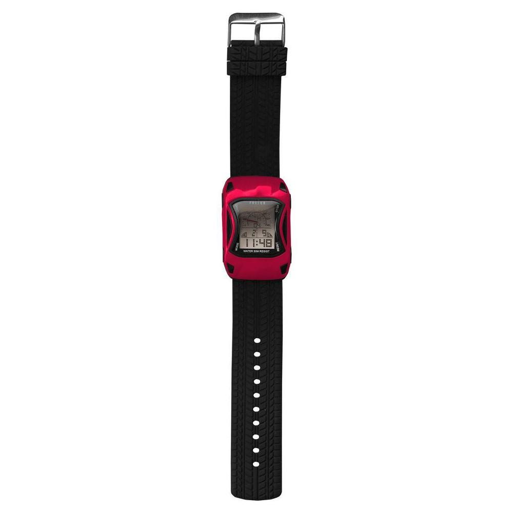 Boys Fusion Race Car Digital Watch - Red Buy