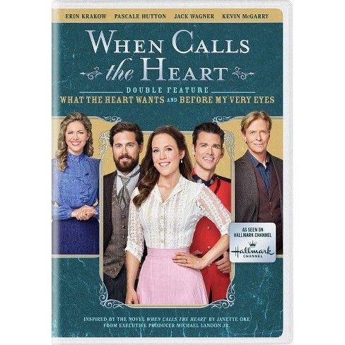 When Calls the Heart Double Feature: What the Heart Wants & Before My Very Eyes (DVD)(2021) - image 1 of 1