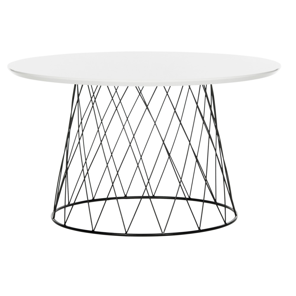 Roe Coffee Table - White - Safavieh