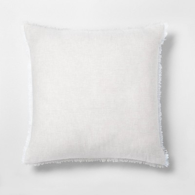 Raw Edge Cross Dyed Throw Pillow - Hearth & Hand™ with Magnolia