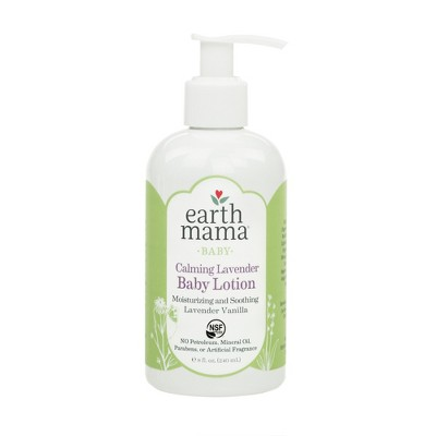 Earth Mama Angel Baby Calming Lavender Baby Lotion - 8oz