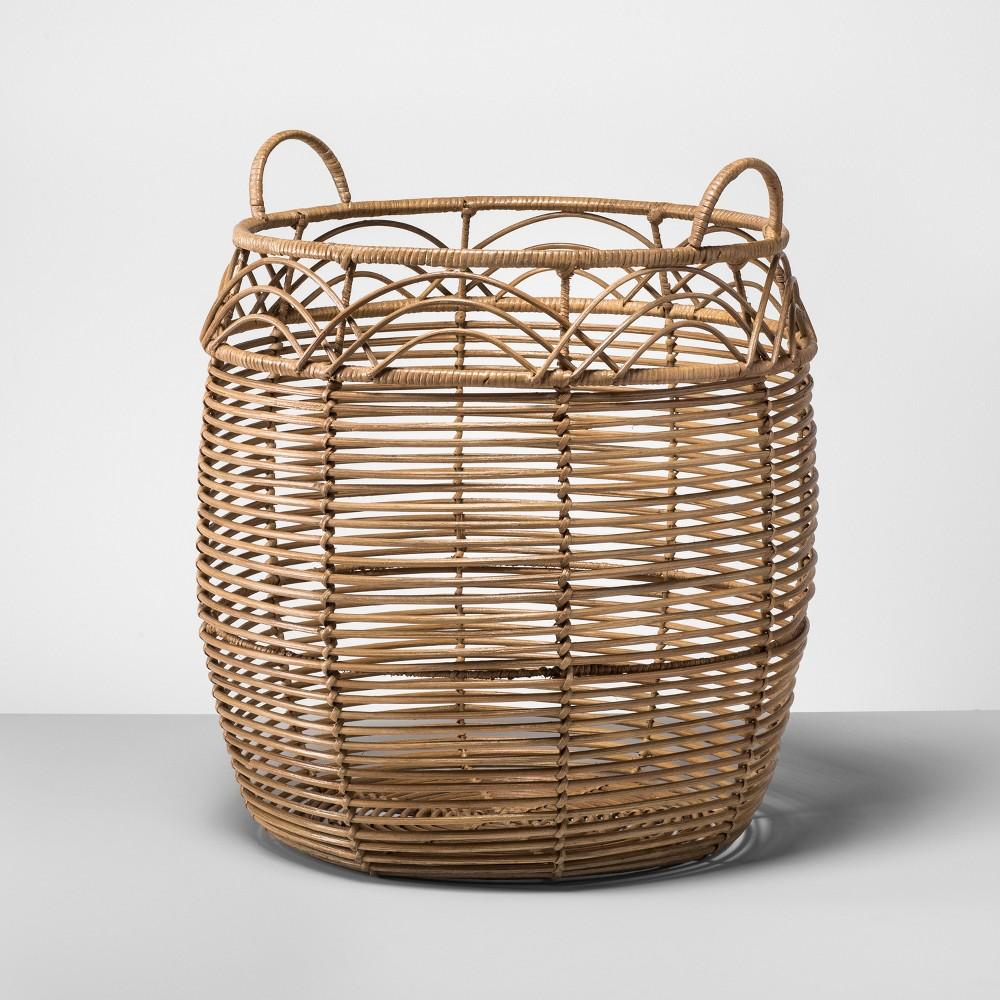 Rattan Basket Large - Natural - Opalhouse