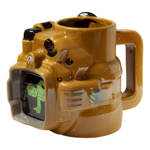 Just Funky Fallout Pip Boy Ceramic Mug 45 OZ  Fallout Collector's Edition - image 1 of 4