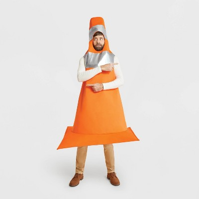 Adult Construction Cone Halloween Costume One Size - Hyde & EEK! Boutique™