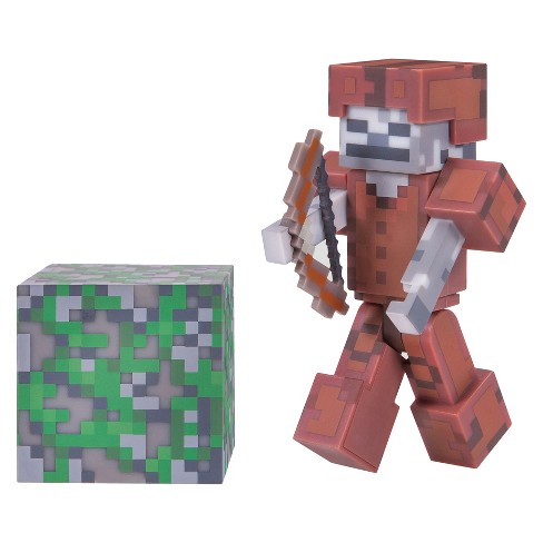 Minecraft® Skeleton in Leather Armor - Core Figure Pack - image 1 of 2