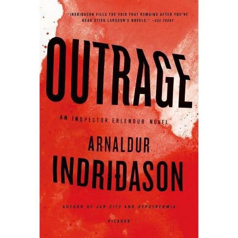 Outrage - (Inspector Erlendur) by  Arnaldur Indridason (Paperback) - image 1 of 1