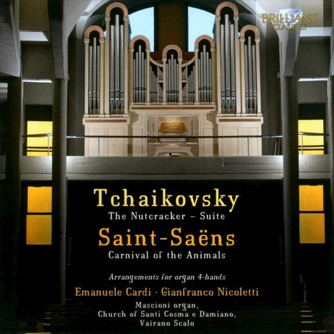 Emanuele cardi - Tchaikovsky/Saint saens:Arrangements (CD) - image 1 of 1
