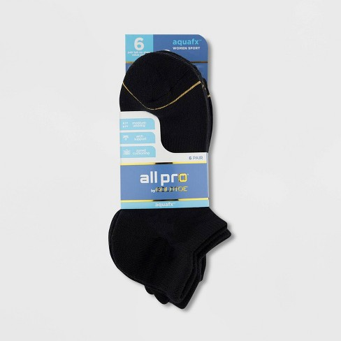 Women S All Pro By Gold Toe 6pk Cushioned H T No Show Athletic Socks 5 10