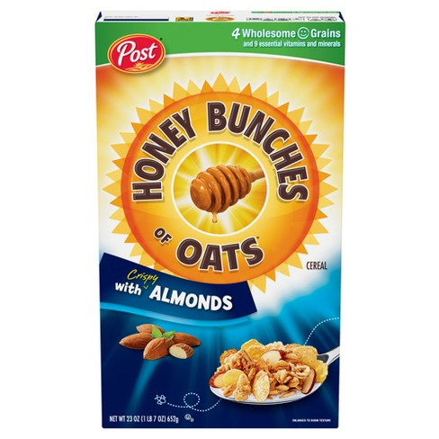Honey Bunches of Oats with Crispy Almonds Breakfast Cereal - 23oz - Post - image 1 of 4