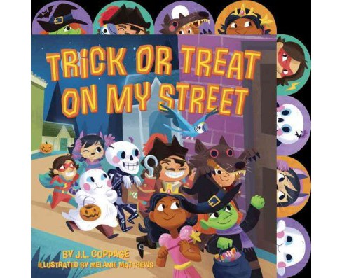Trick or Treat on My Street (Hardcover) (J. L. Coppage) - image 1 of 1