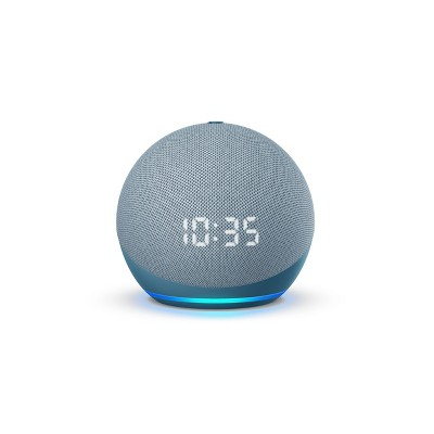 Amazon Echo Dot (4th Gen)- Smart Speaker with Clock and Alexa - Twilight Blue