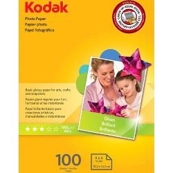 "Kodak Photo Paper 4""x6"" - 100ct"