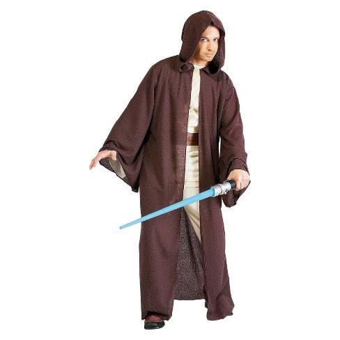 Costumes Star Wars Jedi Knight Bath Robe For Man Black