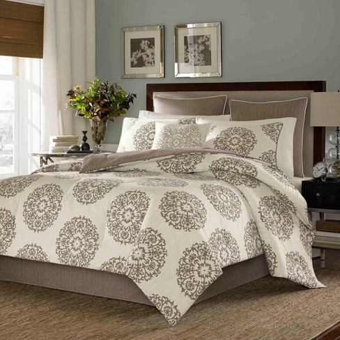 Brown Medallion Comforter Set - Stone Cottage - image 1 of 4