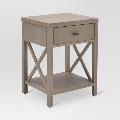 end tables with drawers Owings End Table with Drawer Rustic   Threshold™ : Target end tables with drawers