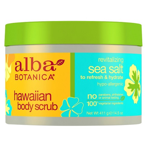 Alba Botanica® Hawaiian Body Scrub with Sea Salt - 14.5oz - image 1 of 1