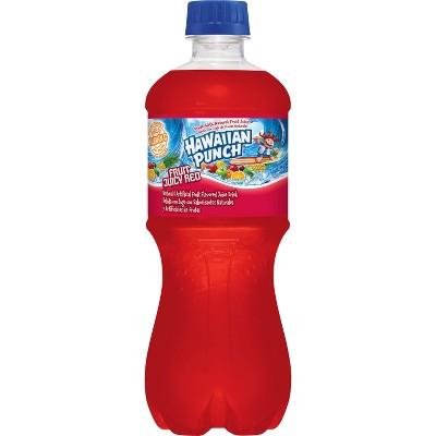 Hawaiian Punch Fruit Juicy Red - 20 fl oz Bottle