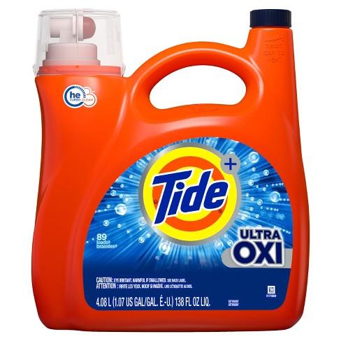 Tide Plus Ultra Oxi Liquid Laundry Detergent - image 1 of 3