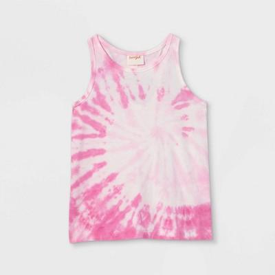 Girls' Tie-Dye Tank Top - Cat & Jack™ Pink
