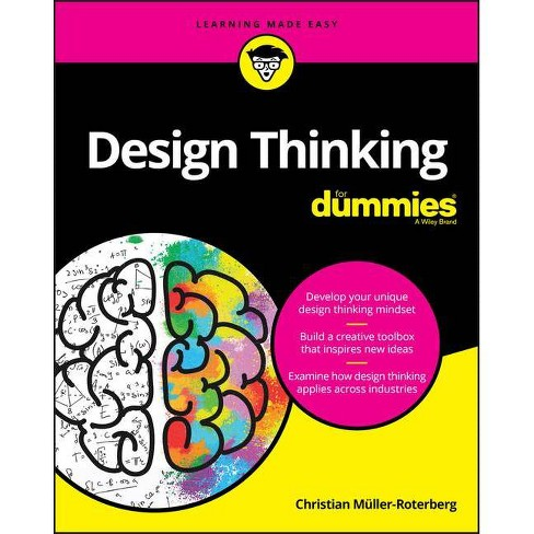 Design Thinking for Dummies - (Paperback) - image 1 of 1