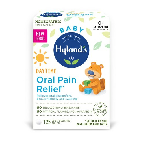 Hyland's Baby Oral Pain Relief - 125ct - image 1 of 1