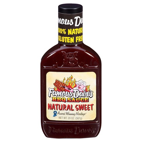 Famous Dave's® Natural Sweet Barbeque Sauce - 20oz - image 1 of 3