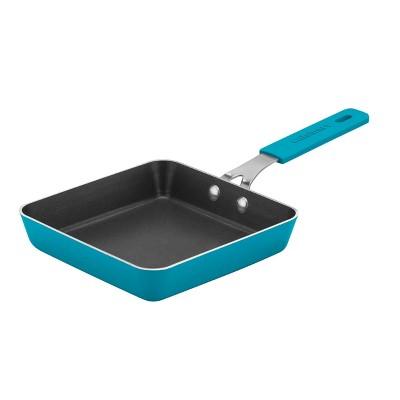 """Cuisinart MINI 5.5"""" Turquoise Non-Stick Square  Mini Fry Pan - 5730M-14TQ"""