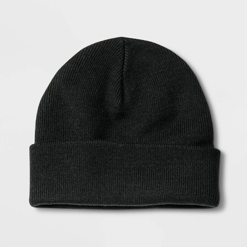 Boys' Cuffed Beanie - Cat & Jack™ One Size - image 1 of 1