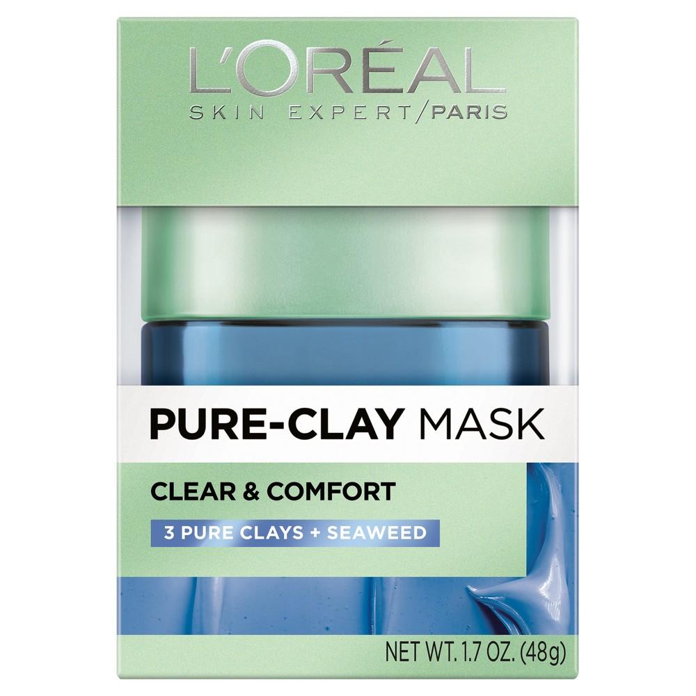 L'Oreal Paris Pure Clay Mask - Clear & Comfort - 1.7oz
