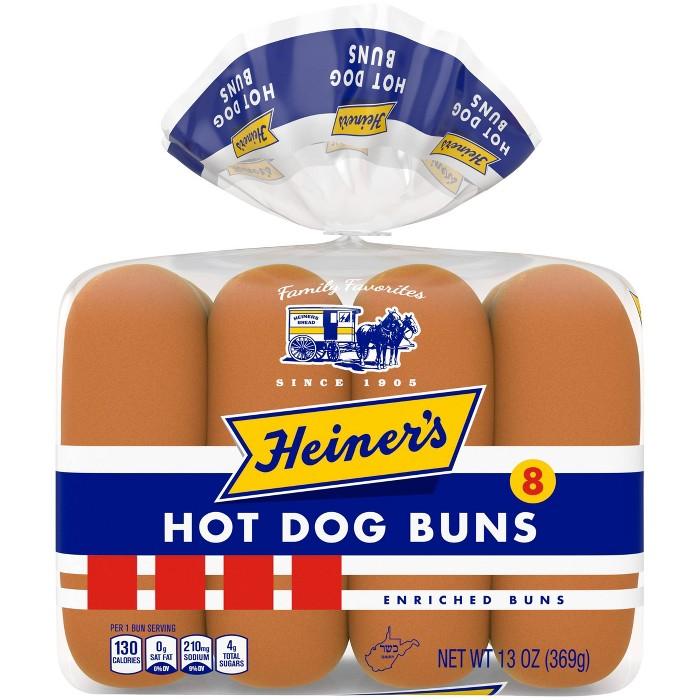 Heiner's Hot Dog Buns - 8ct/13oz - image 1 of 4
