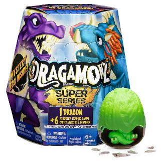 Dragamonz Super Series Dragon Collectible Figure and Trading Card Game (Styles May Vary)
