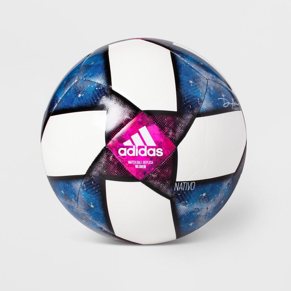 Adidas Mls Glider Size 3 Soccer Ball - White/Black