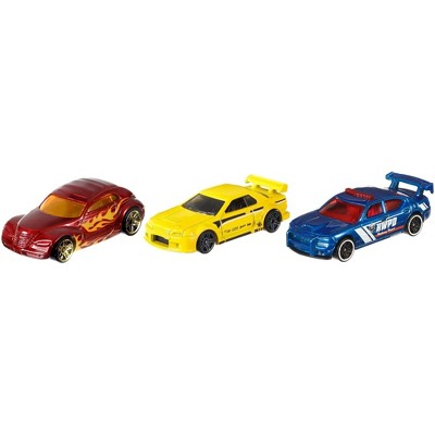 Hot Wheels Diecast - 3 Car Pack